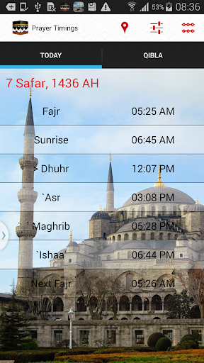 PrayerTimings And Qibla