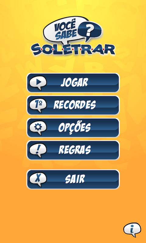 Soletrar- screenshot