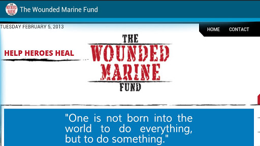 The Wounded Marine Fund
