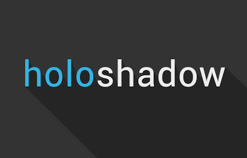 Holo Shadow Icon Pack