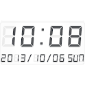LED clock widget B-Me Clock icon