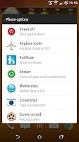 Screenshot of XSense (Xposed Sense)