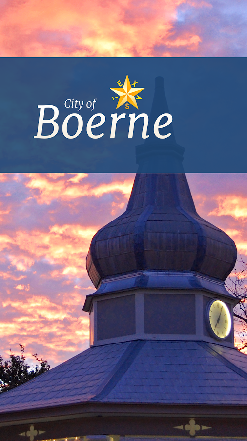 City of Boerne, TX- screenshot