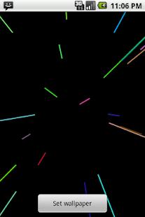 激光光束壁紙