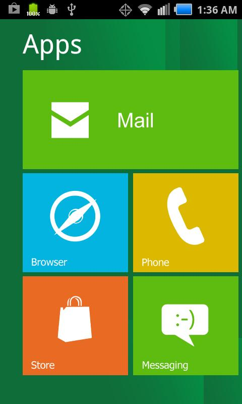 Windows 8 for Android - screenshot