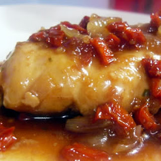 Onion Chicken in Balsamic Sauce