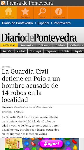 Prensa de Pontevedra