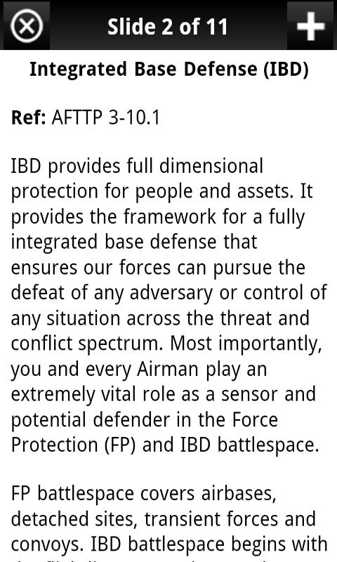 USAF Airman's Manual - screenshot