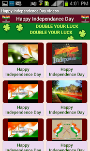 Independence Day Video SMS - screenshot thumbnail