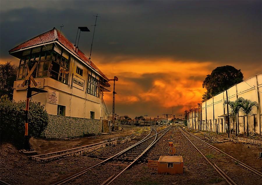 by Daniel Chang - Transportation Railway Tracks