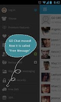Screenshot of GO SMS Pro Free Message Plugin