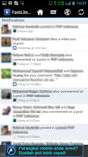 FastLite For Facebook - screenshot thumbnail