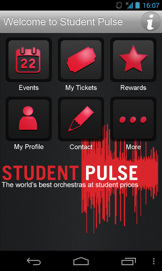 Student Pulse - screenshot