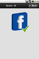 Screenshot of MORE Logo Quiz Demo