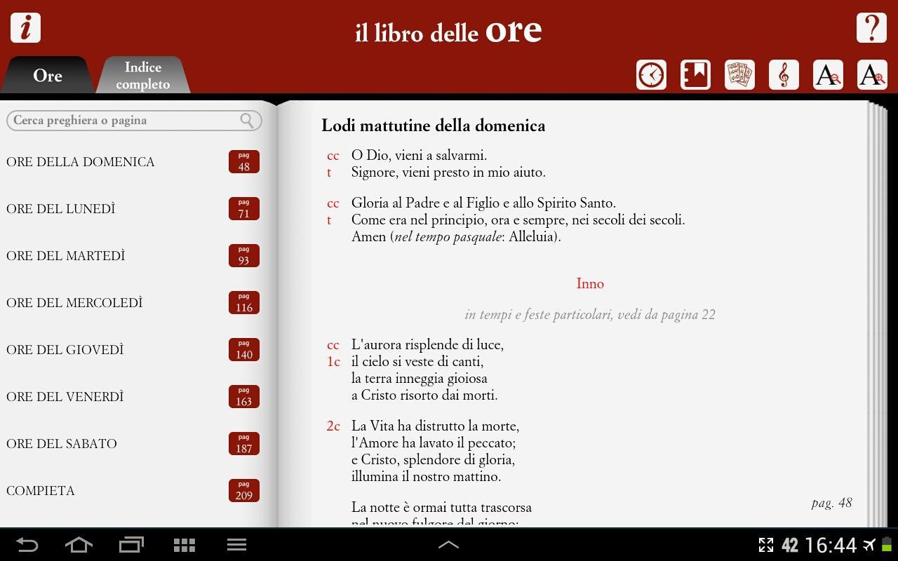 Il Libro delle Ore - screenshot