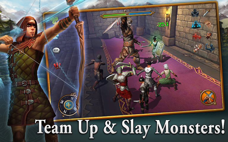 android 3D MMO Celtic Heroes Screenshot 3