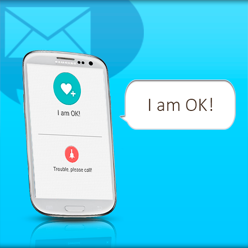 I am OK SMS - screenshot