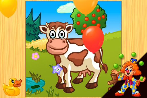 Funny Farm Puzzle for kids