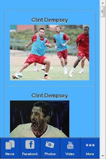 Clint Dempsey Fan App - screenshot thumbnail