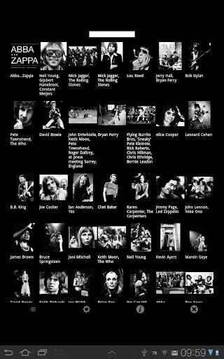 無料摄影AppのAbba...Zappa Seventies Rock|記事Game