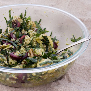 Kale and Chicken Brown Rice Salad with Cherries Recipe