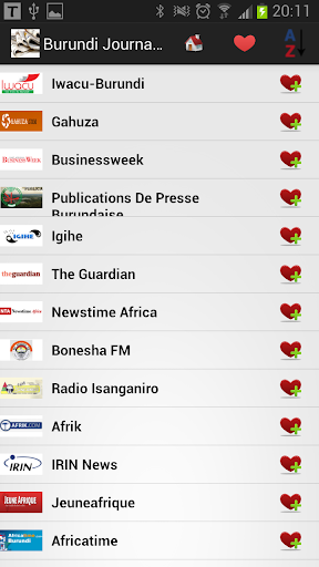 Burundi Journaux et Nouvelles
