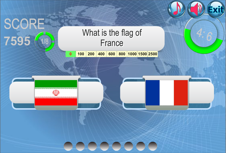 Country Flags - screenshot