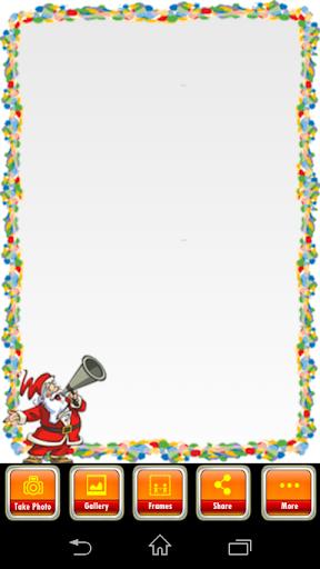 Dancing Santa Frames