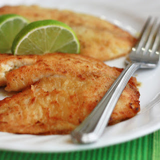 Honey Lime Tilapia.