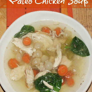 Paleo Chicken Soup Recipe - Slow Cooker.
