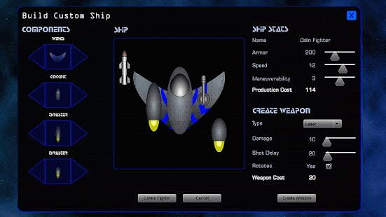 Space Fleet Command 2 Lite - screenshot thumbnail