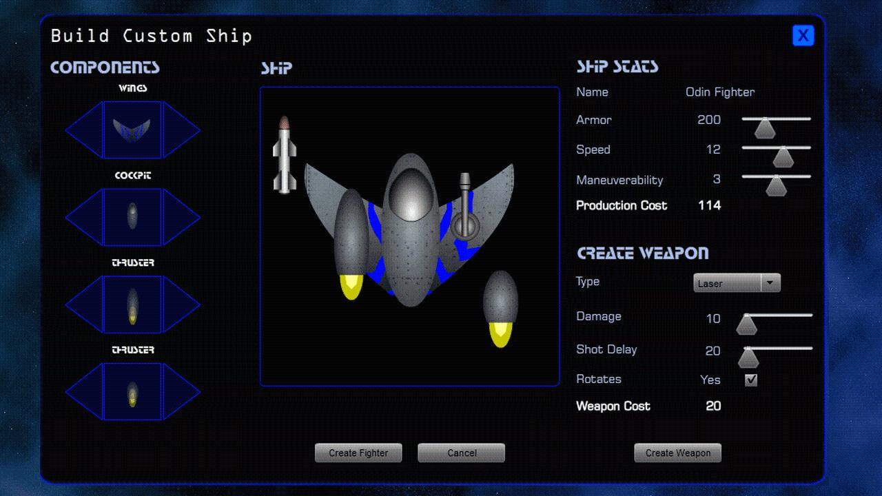 Space Fleet Command 2 Lite - screenshot
