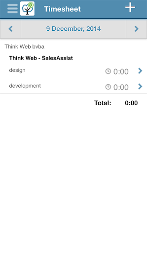 SalesAssist Timetracker