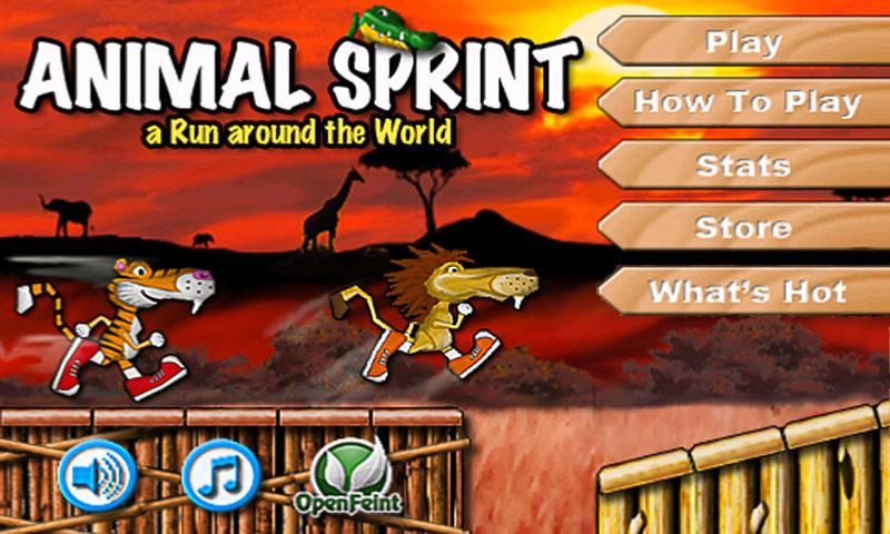 Animal Sprint FREE - screenshot