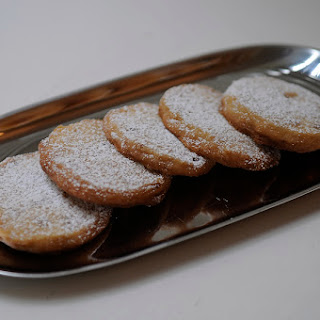Candied Ginger Sables