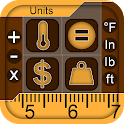 Unit Converter Pro for Android icon