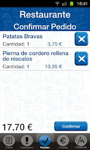 Cloud Waiter: miniatura de captura de pantalla