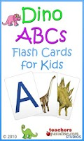 Screenshot of Dino ABCs Alphabet for Kids