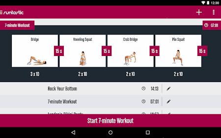 Runtastic Butt Trainer Workout 1.3 screenshot 31829