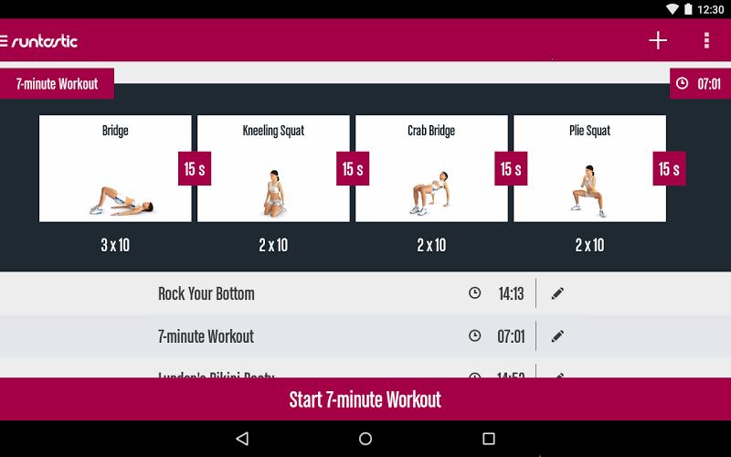Runtastic Butt Trainer Workout Screenshot 16