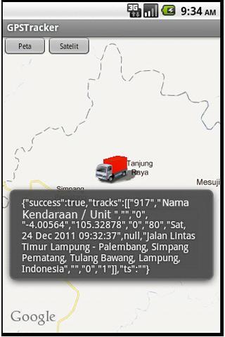 GPS Tracker - screenshot