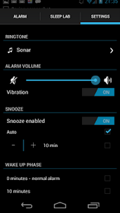 Sleep Time - Alarm Clock - screenshot thumbnail