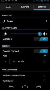 Sleep Time Smart Alarm Clock - screenshot thumbnail