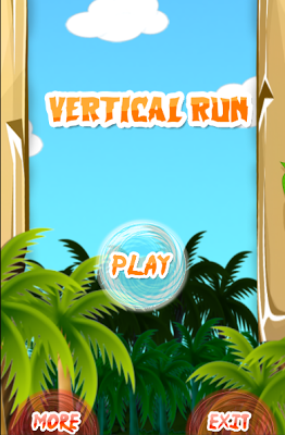 Vertical Run - screenshot