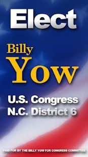 Billy Yow for Congress 2012 - screenshot thumbnail