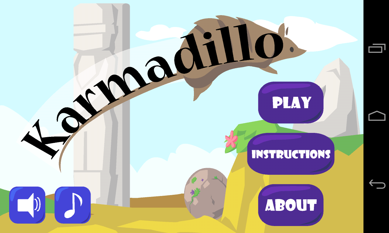 Karmadillo- screenshot