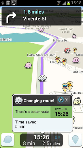 Top Application and Games Free Download Waze social GPS maps & traffic 3.6.0.0 APK File