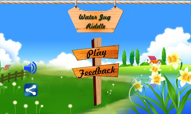 Water Jug Fun Puzzle Game - screenshot
