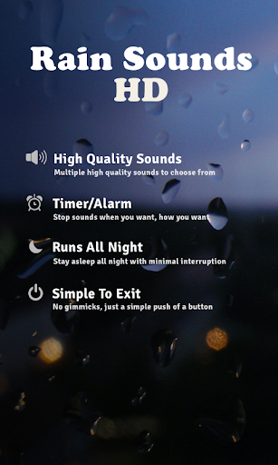 Rain Sounds HD