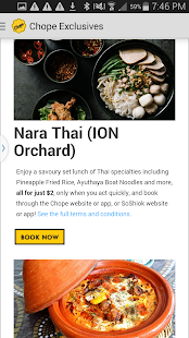 Chope Restaurant Reservations - screenshot thumbnail